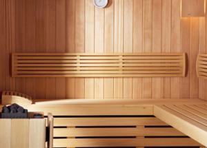 Sauna Home wewnatrz